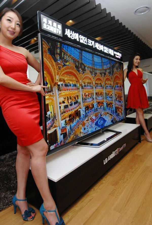TV de 84 polegadas com resolução 4K da LG será lançada em setembro