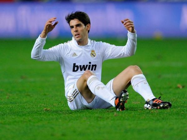 Kaká fica fora novamente dos relacionados do Real Madrid