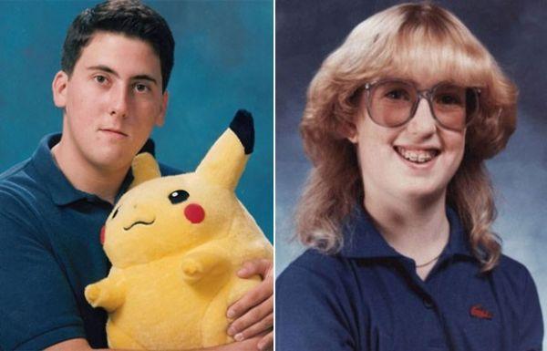 Site americano faz seleção de fotos bizarras publicadas em anuários escolares