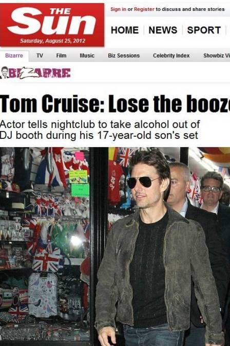 Tom Cruise vai à boate e conversa com coelhinhas da Playboy