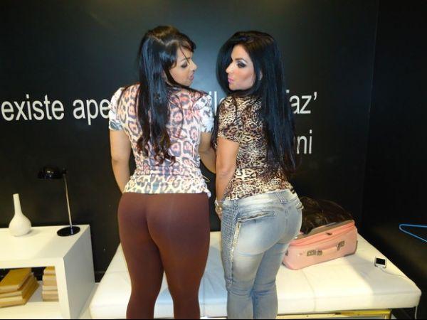 Qual é o maior? Mulher Melancia e Solange Gomes exibem popozões