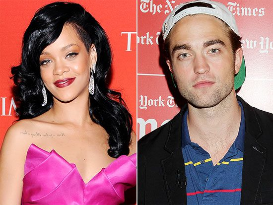 Rihanna manda torpedos sensuais para animar Pattinson, diz site