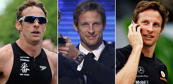 Button supera fama de playboy conquistador e vira superatleta