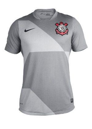 Corinthians estreia camisa cinza contra o Fluminense e inicia pré-venda a R$ 189,90
