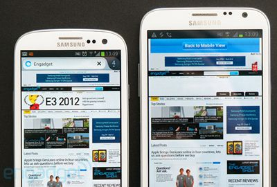 Galaxy Note 2: tela de 5,5