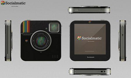 Socialmatic Camera, a câmera do Instagram, deve ser lançada em 2013