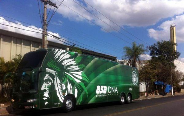 Imagem do novo ônibus do Guarani vaza e irrita presidente
