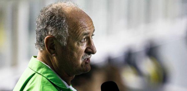 Técnico Felipão diz que má fase do Palmeiras não tem explicação