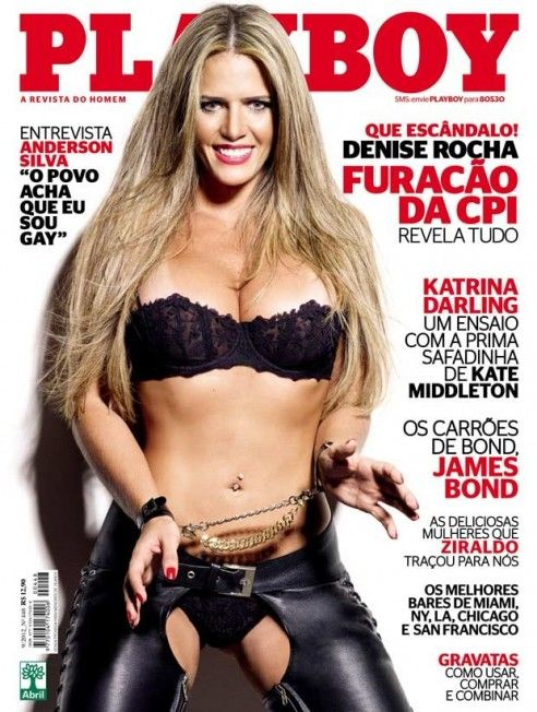 Playboy divulga nova foto de ensaio com ex-assessora parlamentar Denise Leitão