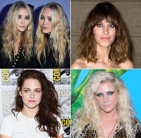 Aprenda o efeito bagunçado nos cabelos, sucesso entre famosas