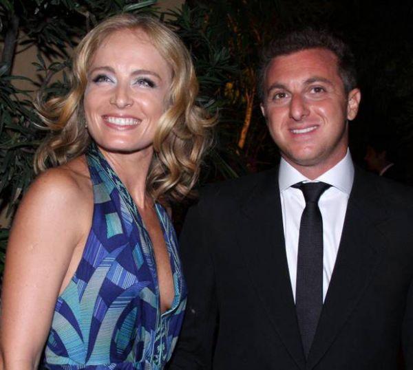 Luciano e Angélica escolheram o nome da filha: â??Vem aí Eva Huckâ??, diz ele