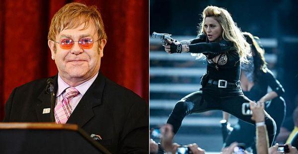 Elton John diz que Madonna é uma