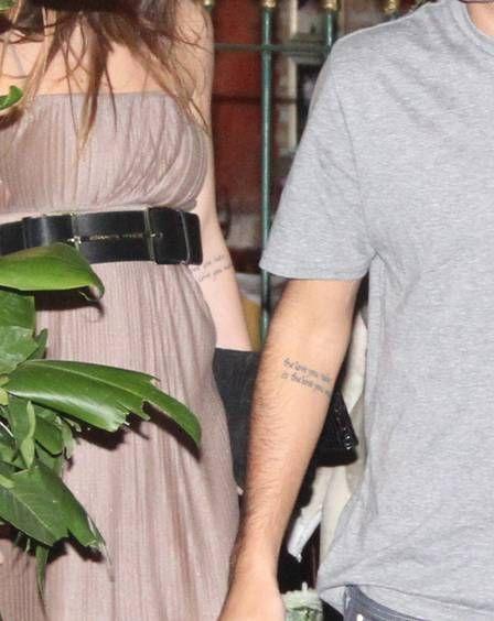Namorado de Sthefany Brito homenageia atriz  com tatuagem idêntica