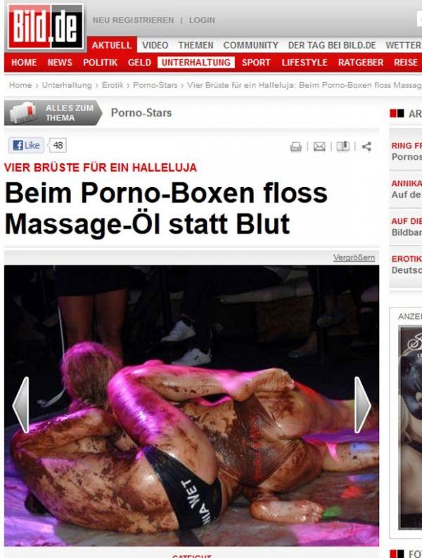 Na Alemanha, atrizes pornôs disputam luta em clube de swing