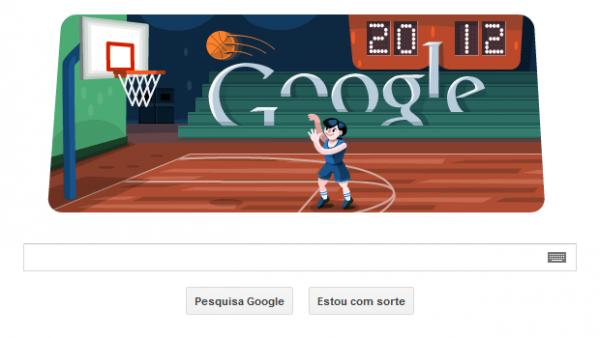 Basquete vira Doodle interativo em homenagem às Olimpíadas de Londres