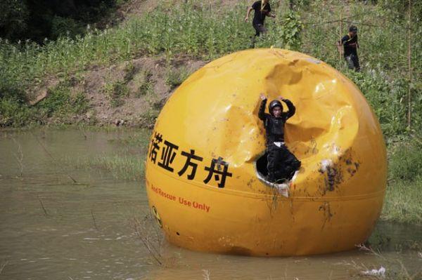 Chinês inventa arca de quase 6 toneladas que custa R$ 480 mil