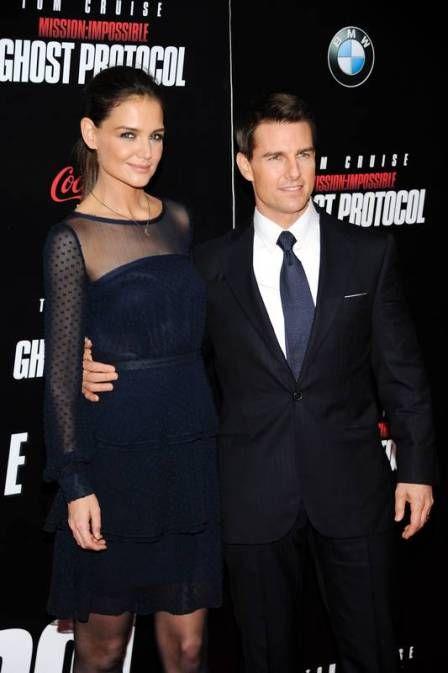 Katie Holmes e Tom Cruise continuam se falando normalmente após separação