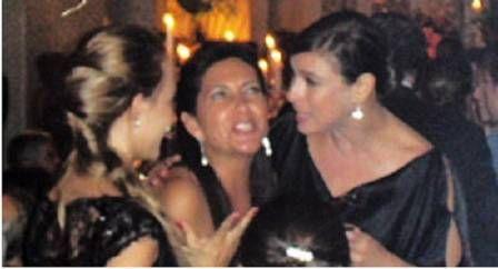 Marcos Palmeira e Maria Paula se beijam em flagra no casamento de Serrado
