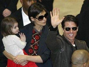Pela filha, Tom Cruise e Katie Holmes continuam se falando, diz revista