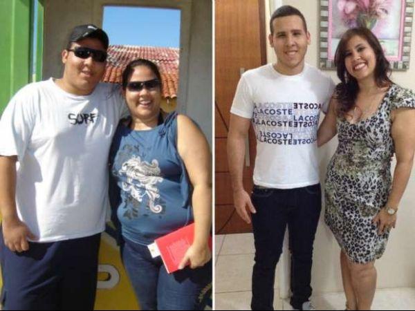 Irmãos apostam, mudam rotina e perdem juntos 83 quilos em um ano