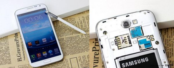 Galaxy Note 2 de dois chips aparece na China