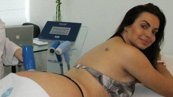 Veridiana, ex-affair de Gusttavo Lima, faz tratamento para secar