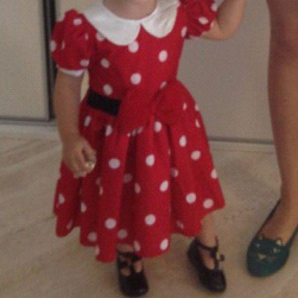 Filha de Kaká tem dia de modelo: