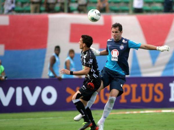 Com gol no fim, Bahia bate Figueirense no Pituaçu