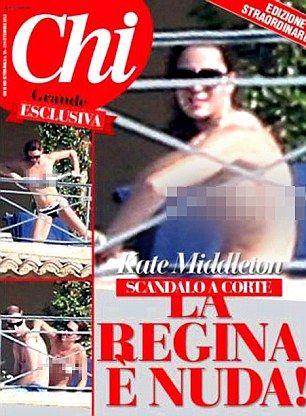 Revista afirma que nem apelo da rainha fará com que não publique novas fotos de Kate
