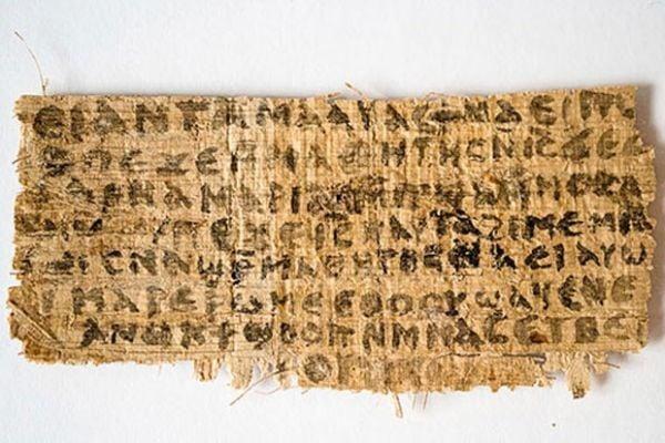 Papiro sobre Jesus
