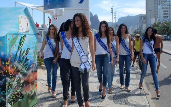 Vitória de noiva de Latino é alvo de protestos no Rio de Janeiro