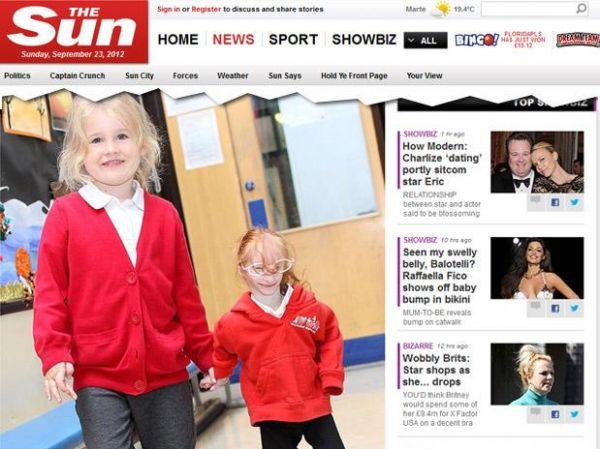 Com espécie rara de nanismo, menor menina britânica vai à escola