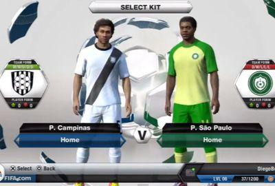 Confira todos os clubes nacionais e seus respectivos uniformes em Fifa 13