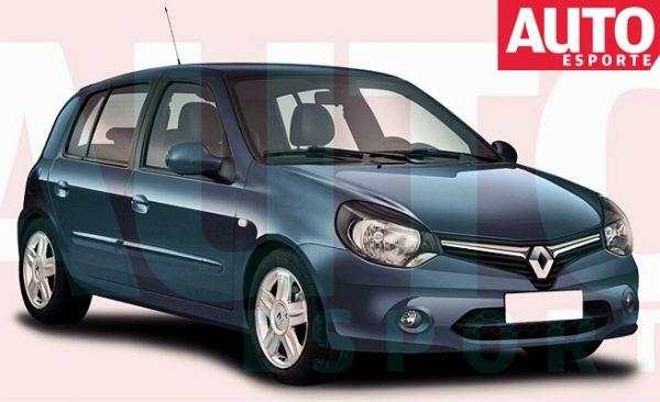 Nova versão do Renault Clio é vista sem disfarce e lembra modelo global