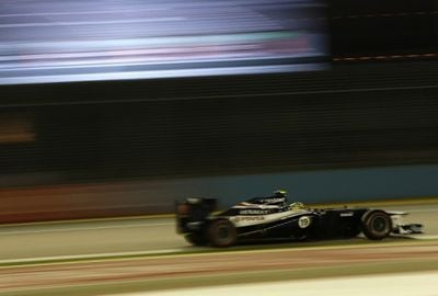Williams diz que Senna sofreu queimaduras no GP de Cingapura