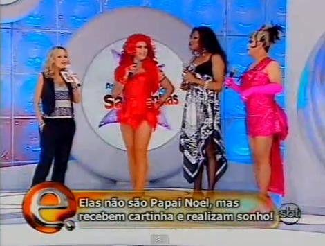 Eliana dispensa drag queens e afirma que agora é mãe de família