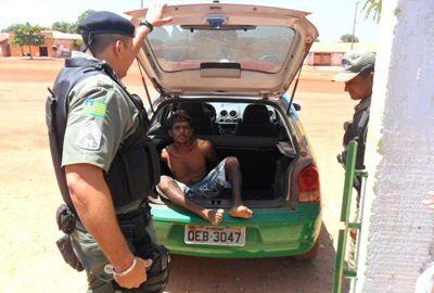 Homicida foragido da justiça é preso na zona rural de J. Freitas