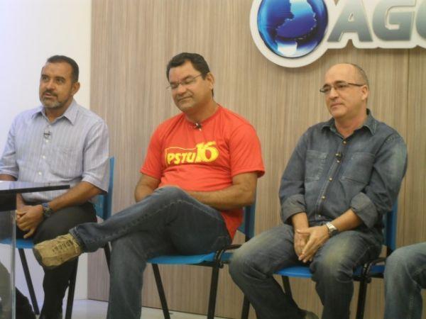 Coordenadores de campanha de candidatos à PMT se alfinetam em debate ao vivo