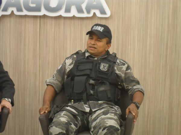 Delegado-geral e Comandante da RONE comentam assalto