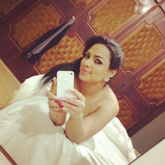 Sem roupa, Mulher Melancia posta foto em rede social e provoca internautas