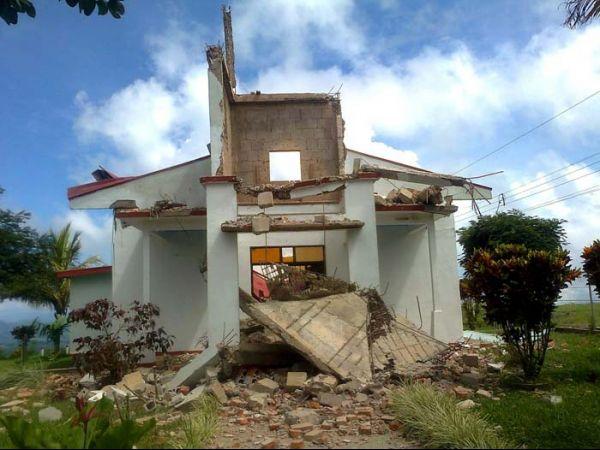 Terremoto na Costa Rica deixa duas pessoas desaparecidas, diz Cruz Vermelha