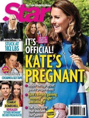 Kate Middleton e príncipe William estão à espera do primeiro filho