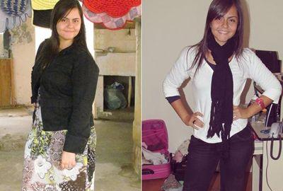 Após ver foto com excesso de peso, jovem muda hábitos e perde 30 kg