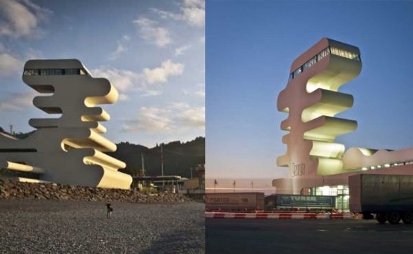Arquitetura de edifício em zigue-zague na Geórgia  é inspirado nas ondas