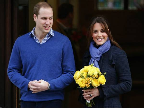 Bebê de William e Kate receberá título de princesa se for menina