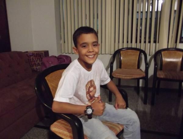 Brasileiro de 9 anos já chama a atenção de