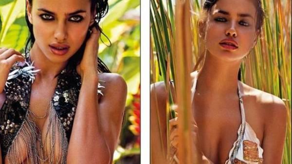 Namorada de Cristiano Ronaldo faz ensaio sensual de biquíni