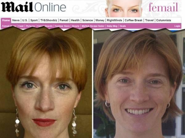 Em busca de felicidade, mulher abandona maquiagem e depilação
