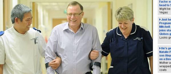 Isodo azarado fratura 15 ossos e passa por 34 cirurgias na Grã-Bretanha