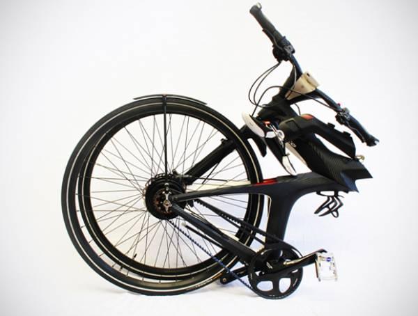 Bicicleta elétrica conceitual deixa o usuário conectado às redes sociais